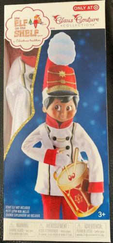 Primary image for MERRY MARCHER LITTLE DRUMMER BOY BAND Elf on The Shelf Claus Couture 2019 Drum