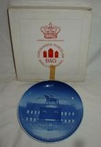Bing & Grondahl 1970 Christmas plate Royal Palace B&G collectible - $10.00