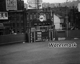 MLB 1950's Crosley Field Cincinnati Reds Scoreboard Black & White  8 X 1... - $6.99