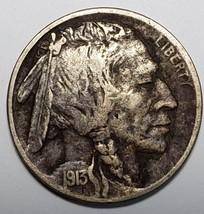 1913D Type 2 Buffalo Nickel 5¢ Coin Lot # 818-32