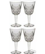 Waterford Crystal LISMORE Claret Wine Glasses Set of FOUR (4) 154038 Brand New - $239.83