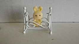 Avon Gift Collection Spring Bunnies Collection Bunny in Cradle CL25-16 - $8.99