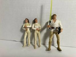 Star Wars POTF Luke Skywalker plus POTJ Leia Bespin x2 - $10.00