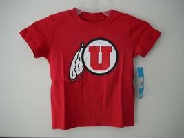 NCAA Utah Utes Toddler Outerstuff Primary Logo Short Sleeve Tee Sz 4T NWT - $11.88