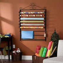 Wrapping Paper Storage Organizer Holder Rack Ro... - $77.65