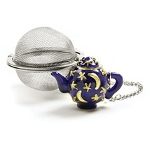 Norpro Stainless Steel 2-Inch Mesh Tea Infuser Ball with Teapot Weight - £6.90 GBP