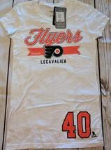 LZ Reebok Women's S Philadelphia Flyers Short Sleeve Shirt Tee T-Shirt N... - $13.99