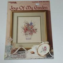 "Leisure Arts ""Joys of My Garden"" Cross Stitch Pattern #478 Flowers Book Two - $7.82"