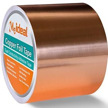Copper Foil Tape 3inch X 33 FT with Dual Conductive Adhesive for Guitar and EMI