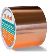 Copper Foil Tape 3inch X 33 FT with Dual Conductive Adhesive for Guitar ... - $28.03