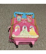 Disney Princess Pilot Case Rolling Luggage Carry on Approved - $29.70