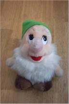 "Disney Snow White VINTAGE DWARF 7"" Plush Stuffed Animal - $14.85"