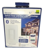 NIB Leviton Decora DDS15 15 Amp Dual Voltage Bluetooth Digital Switch - $35.63