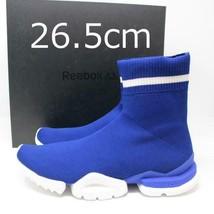 Men 8.5Us Reebok Sockrun R Blue Cm - $220.99