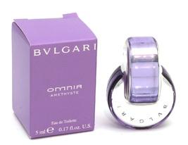 Bulgari Omnia Amethyste Eau de Toilette Splash Mini - NIB - $9.50