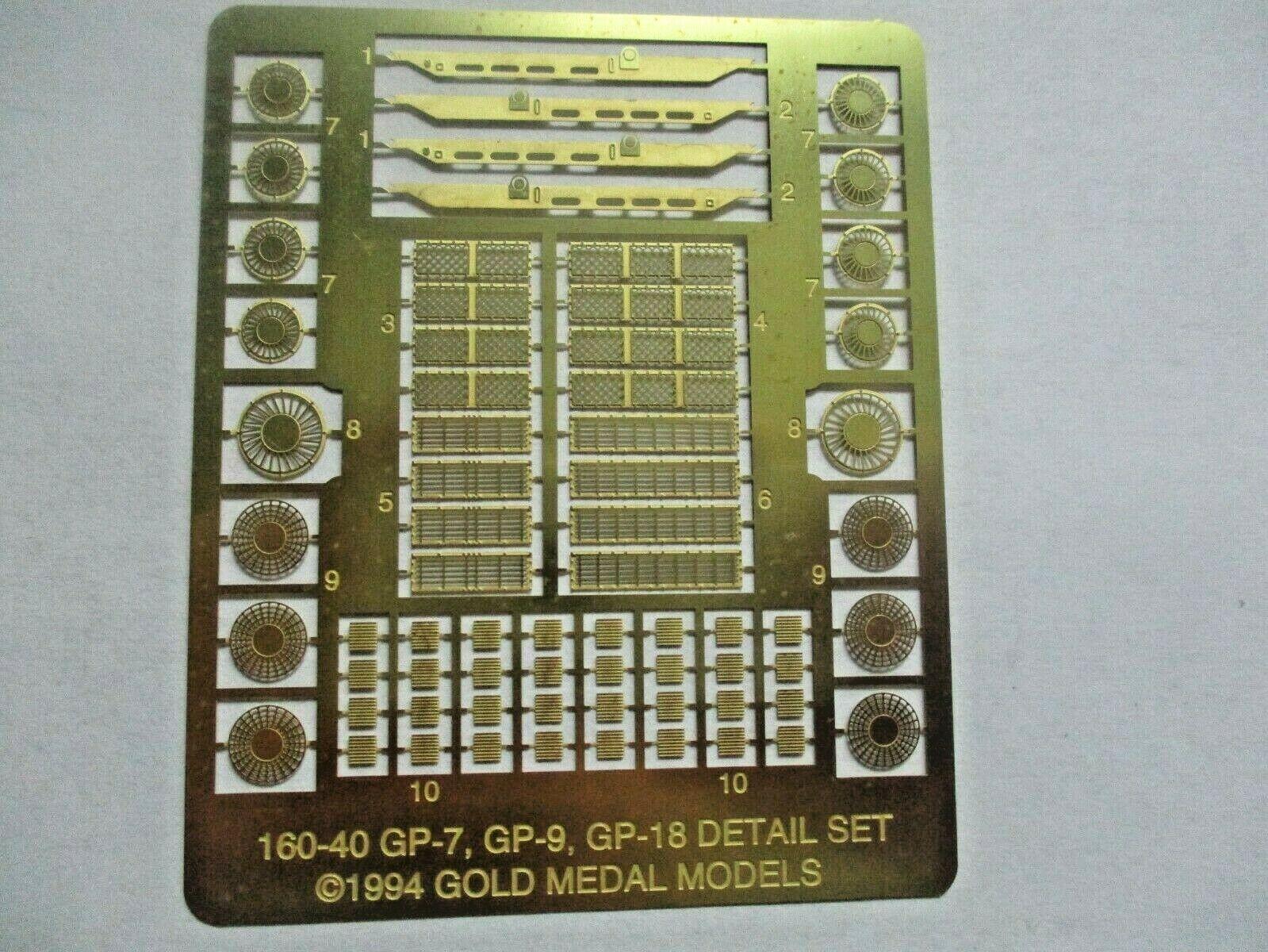 Gold Medal Models # 160-40 Life-Like Detail Set GP-18 GP-18 to GP-7 0r-9 (N)