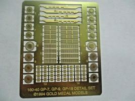 Gold Medal Models # 160-40 Life-Like Detail Set GP-18 GP-18 to GP-7 0r-9 (N) image 1