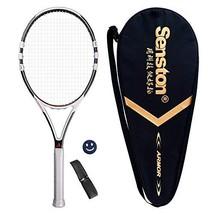 Senston Professional Tennis Racket Adults Full Carbon Fiber Tennis Racqu... - $69.18