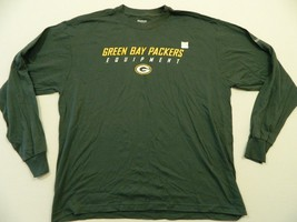 M73 New REEBOK Green Bay Packers NFL Equipment Long Sleeve Shirt MEN'S S... - €12,69 EUR