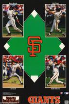 POSTER: MLB BASEBALL -:SAN FRANCISCO GIANTS STARS 1993 #7570 RC51 B - $26.00