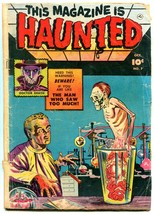 This Magazine Is Haunted #7 rare 1951-Fawcett-comic book Weird Lab Terror - $155.20
