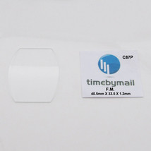 For FRANCK MULLER Watch 40.5mm X 33.5mm X 1.2mm Glass Crystal Spare Part C87P - $37.65