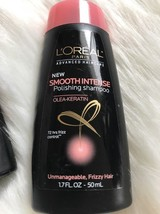 L'Oreal Paris Smooth Intense Polishing Shampoo Kertain 1.7oz Each (3.4oz... - $3.95