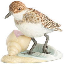 Lenox Sandpiper Hand Painted Sea Bird Sculpture... - $39.90
