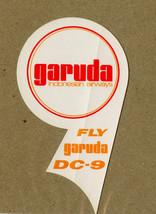 garuda DC 9 Sticker Douglas Aircraft Airplane Indonesian Airways Fly garuda - $14.99