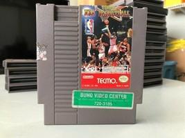 Tecmo NBA Basketball, Nintendo Entertainment System (NES) 1992, Tested - $7.00