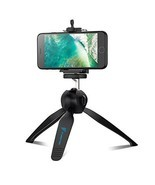 Mini Tripod with phone mount Table for Gopro & Phones Lightweight Flexible - £10.81 GBP