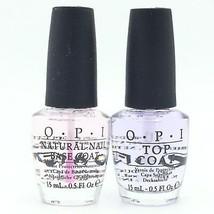 OPI Nail Lacquer DUO 0.5oz/15ml- NTT10 Base Coat & NTT30 Top Coat Natural ✅  - $17.00