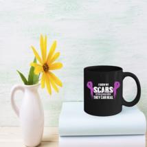 Cool Quote Domestic Violence Awareness Mug Cute Coffee Mug Gifts - $15.95
