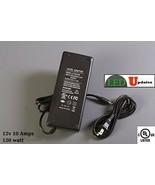 UL Listed AC 100-240V to DC 12V 10A 120w LED Light AC Adapter High Power... - $29.69
