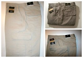 Men's Cargo Pants with Flannel Lined  Khaki, Olive, Stone,  42x32 - $34.50