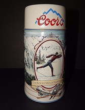 Coors The Rocky Mountain Legend Series 1991 Stoneware Beer Stein Mug -Sk... - $24.74