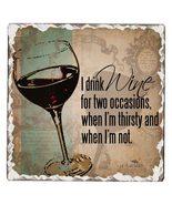I drink wine coaster single thumbtall