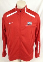 Red Nike Track Jacket NCAA Final Four 2015 Indianapolis Women's Large - $19.99