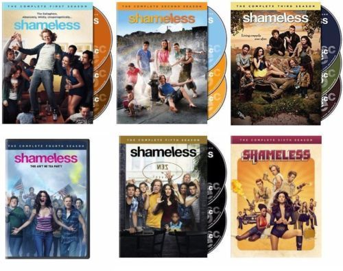 Shameless: The Complete Series Seasons 1-6 1 2 3 4 5 6 DVD Set New for sale  USA