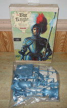 Aurora Young Model Kit Builders Club Mail Order The Blue Knight of Milan 1972 - $87.06