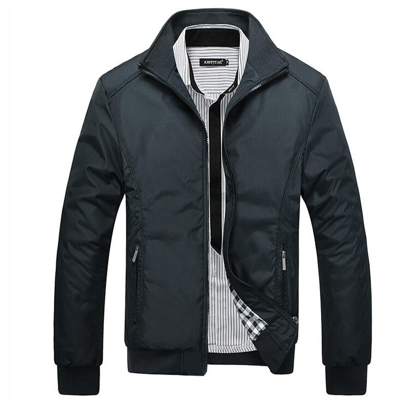 Casual Jacket Men Overcoat Jackets Male Outwear Windbreaker Coat Elegant Jaqueta