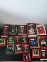 Lot of 17 Hallmark Ornaments Keepsake Christmas Holiday Mixed Lot Santa ... - $24.70