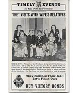 Boone IA Gen. Eisenhower Family Visit Carlson Doud Moore 1945 - $14.99