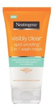 Neutrogena visibly clear spot proofing 2 in 1 wash mask 0 thumb200