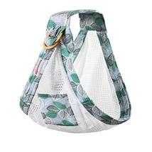 BUDOUMAMA Wrap Baby Carrier, Grey - Original Stretchy Infant Sling, Perfect for