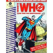 D.C. Comics Who's Who In The DC Universe #1 Loose Leaf - $7.80