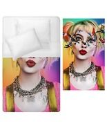 harley quin cosplay halloween horror Duvet Cover Single Bed Size  - $70.00