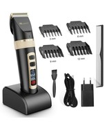 Electric Hair Clipper Professional Low Noise Compact Portable Hair Cutte... - $57.93