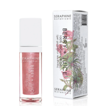 Seraphine Botanicals Berry + Juice Rose Currant - 100% Vegan Lip Gel & s... - $19.95