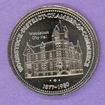 1980 Woodstock Ontario Trade Token or Dollar Plow City Hall 2nd STRIKE Dots - $3.00